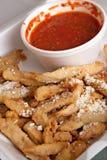 Eggplant Fries Stock Photos