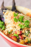 Eggplant Gratin for vegetarian Stock Photography