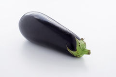 Eggplant. A healthy eggplant on a plate Royalty Free Stock Photo