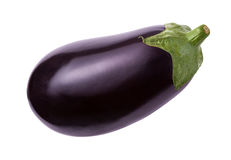 Eggplant Isolated with clipping path Royalty Free Stock Photos