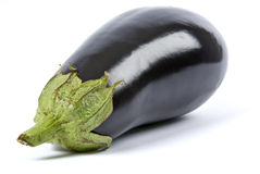 Eggplant Isolated on White royalty free stock photos