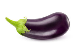 Eggplant. Isolated on white background Stock Photo