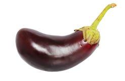 Eggplant. Isolated on white background Stock Photography