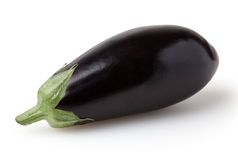 Eggplant isolated on white background Stock Photo