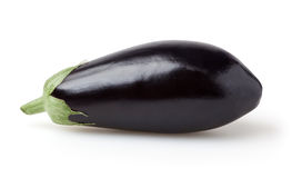 Eggplant isolated on white background Royalty Free Stock Images