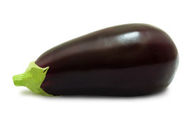 Eggplant isolated on a white background Royalty Free Stock Images