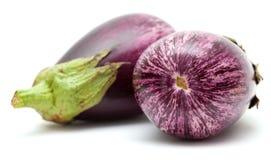 Eggplant isolated on white Royalty Free Stock Photo
