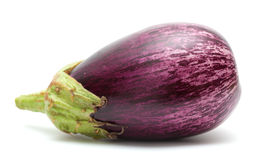 Eggplant isolated on white Royalty Free Stock Images
