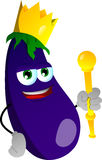 Eggplant king Royalty Free Stock Photo