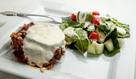 Eggplant Lasagne Stock Photography