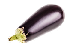Eggplant over white Stock Image