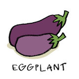 Eggplant Royalty Free Stock Photography