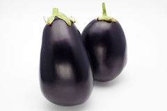 Eggplant pairs Royalty Free Stock Photography