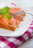 Eggplant Parmigiana. Stock Photography