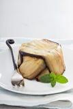 Eggplant pasta bake Royalty Free Stock Image