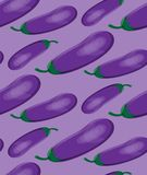 Eggplant pattern. For backgrounds, wallpapers, wrapping paper, textile. Eggplant pattern. For backgrounds, wallpapers, wrapping paper textile Vector 10 EPS Stock Photos