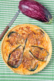 Eggplant Quiche Stock Image