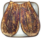 Eggplant Roasted with Thyme Stock Photography