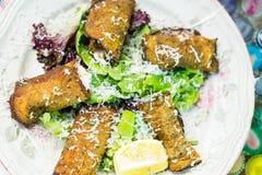 Eggplant Rotoli Royalty Free Stock Images