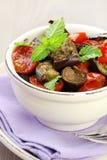 Eggplant salad Stock Image