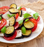 Eggplant salad Royalty Free Stock Photo