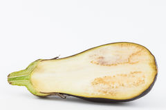 Eggplant Solanum melongena Stock Photo
