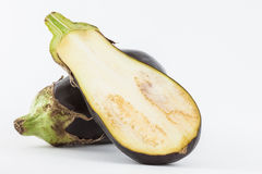 Eggplant Solanum melongena Stock Images
