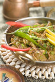 Eggplant in spices, Baingan Bharta Royalty Free Stock Photography