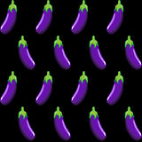 Eggplant stock  pattern on background wallpaper, pattern, web, blog, surface, textures, graphic & printing. Stock Image