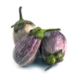Eggplant varieties of graffiti Royalty Free Stock Image