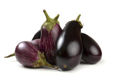 Eggplant varieties of graffiti Royalty Free Stock Photos