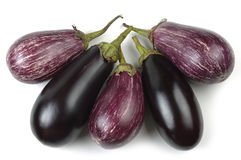 Eggplant varieties of graffiti Stock Photo