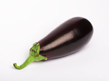 Eggplant vegetable. An eggplant vegetable isolated on white Stock Image