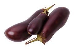 Eggplant on white Stock Photo