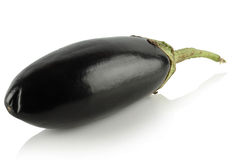 Eggplant on a white background. Stock Photo