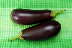 Eggplants Stock Photo
