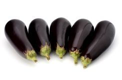 Eggplants Royalty Free Stock Images