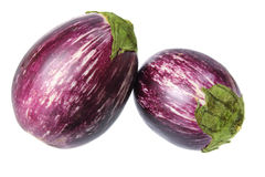 Eggplants Royalty Free Stock Photos