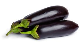Eggplants (aubergines) Royalty Free Stock Images
