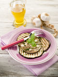Eggplants grilled Stock Images
