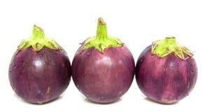 Eggplants III Stock Photos
