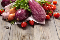Eggplants. Royalty Free Stock Photos