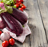 Eggplants. Royalty Free Stock Photography