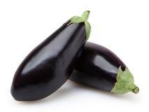Eggplants  on white Royalty Free Stock Photos