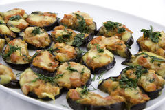 Eggplants With Cheese Royalty Free Stock Photo