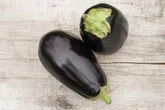 Eggplants and zucchini Royalty Free Stock Image