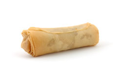 Eggroll. In isolated white background Royalty Free Stock Images