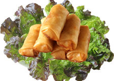 Eggrolls Royalty Free Stock Photo