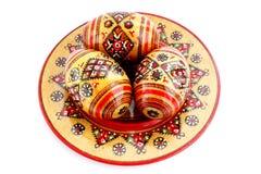 eggs деревянное стоковая фотография