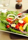 eggs здоровый салат триперсток стоковое изображение rf